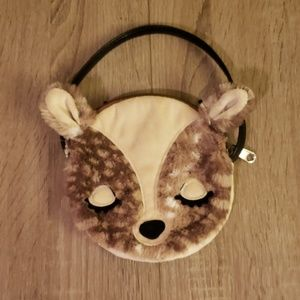 **5 for $15** Child's Soft Furry Deer Purse